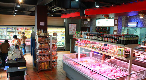 inside of Indoguna Meatshop & Gourmet