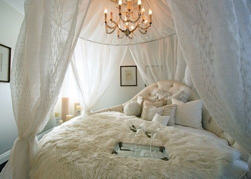Add A Canopy for Couples Bedroom Ideas