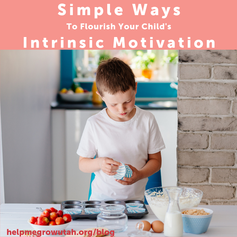 Simple Ways to Help Your Child's Intrinsic Motivation Flourish