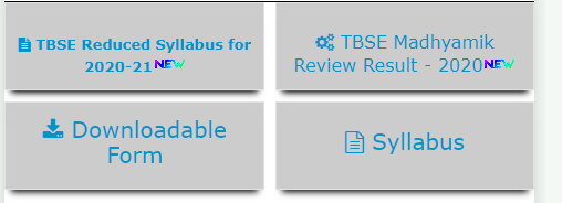 Steps to Download TBSE Syllabus and Blueprint for Class 12 (2020-21)
