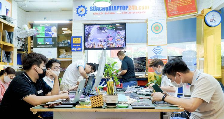 Trung tâm sửa chữa Laptop 24h .com