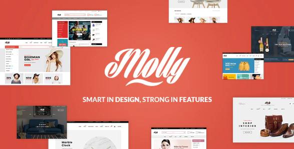 3. Molly - Fashion Store WooCommerce WordPress Theme
