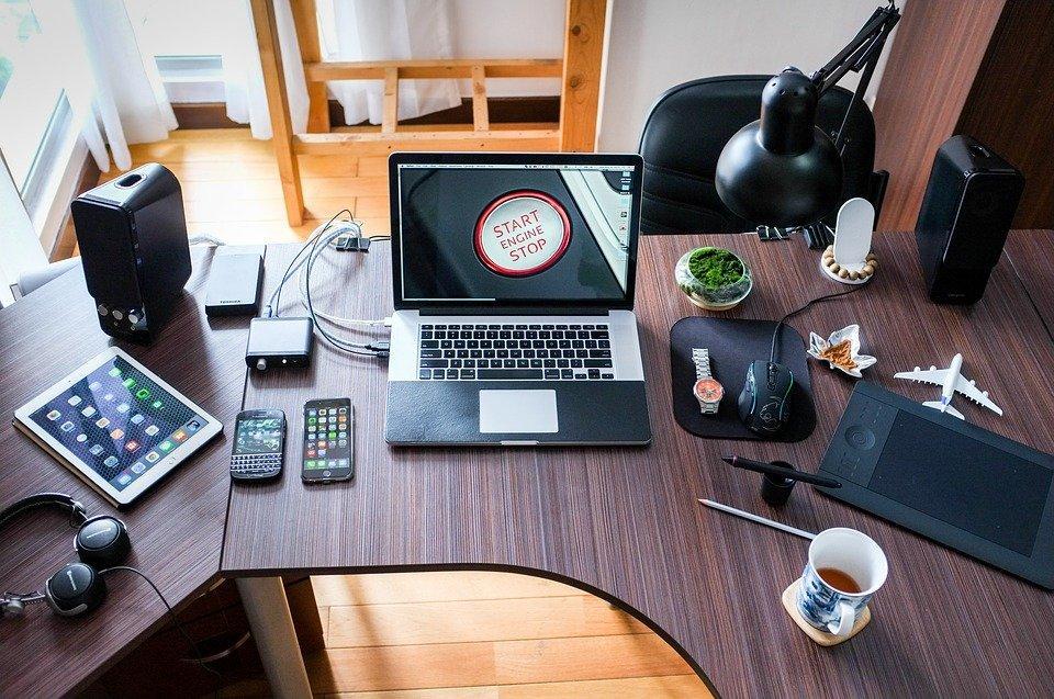 Computer, Working, Office, Business, Technology, Work