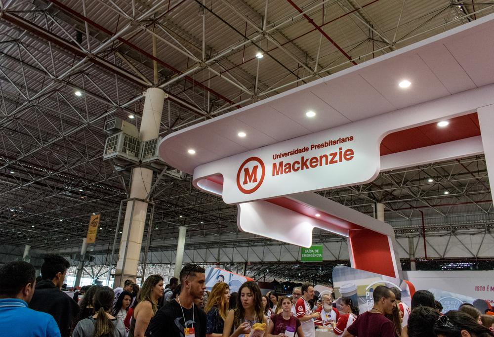 O vestibular do Mackenzie está entre os mais concorridos do país, em razão da excelência do ensino da instituição. (Fonte: Bruno Silva/Shutterstock)