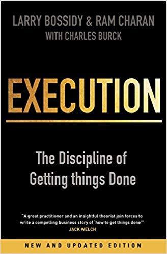 capa do livro Execution