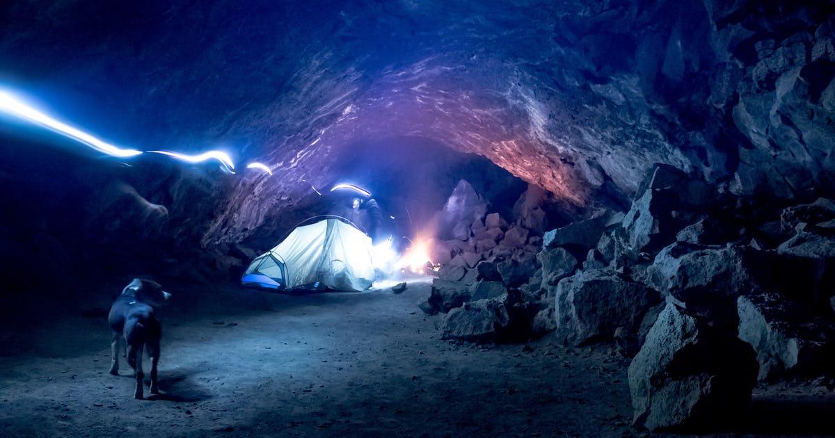 Tabernacle Lava Tubes