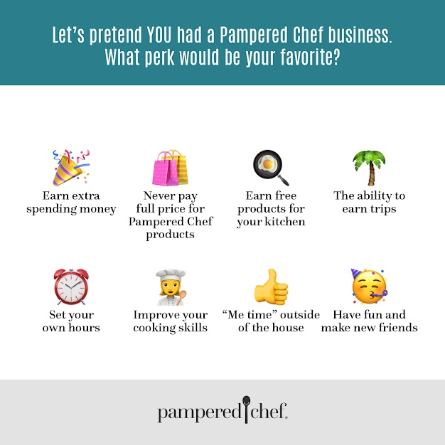 Perks for Pampered Chef Independent Consultants