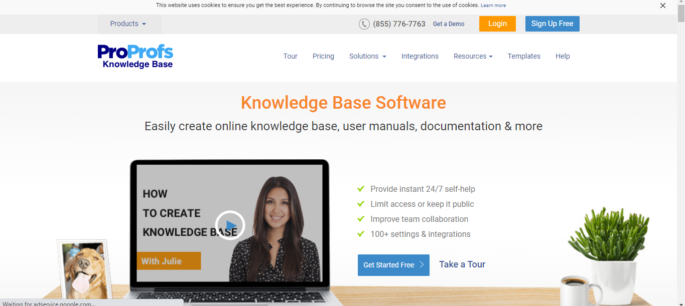 ProProfs Knowledge Management Software