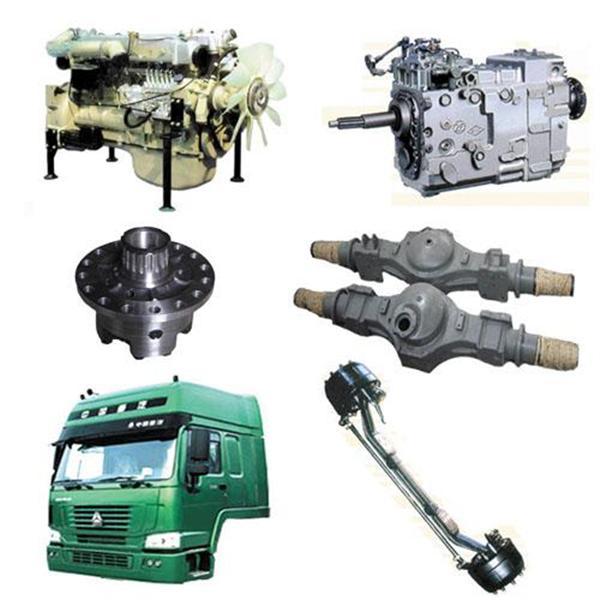 Các loại phụ tùng xe tải howo