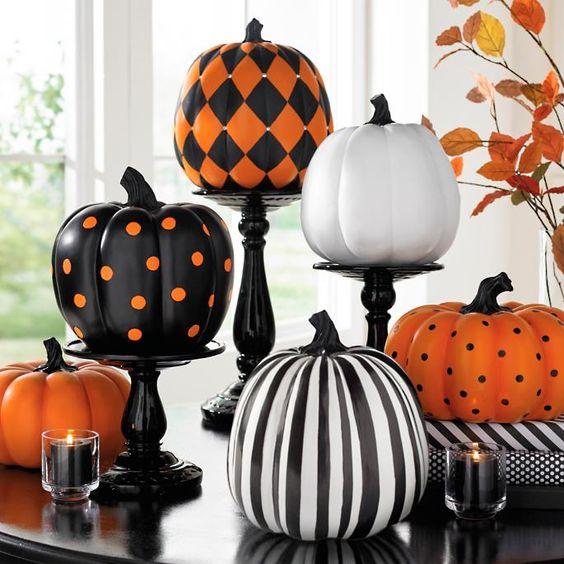 fancy pumpkins halloween