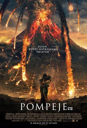 Polski plakat filmu 'Pompeje'