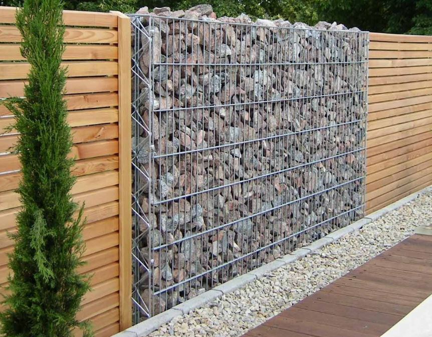 Horizontal Wood Fence Ideas