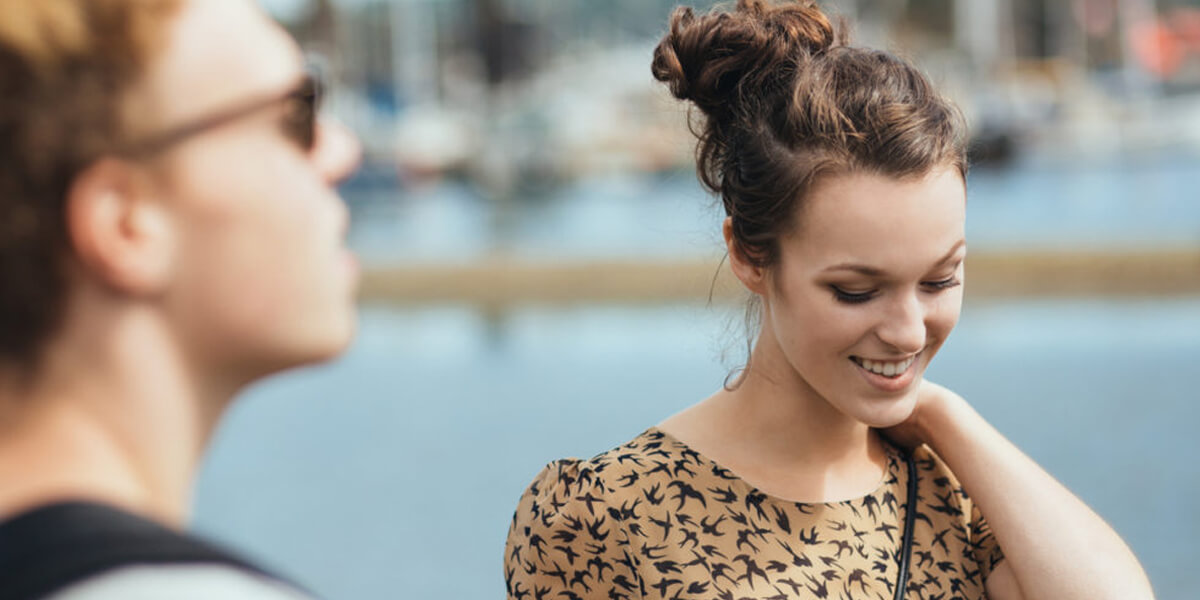 10 Signs A Girl Likes You But Is Trying Not To Show It