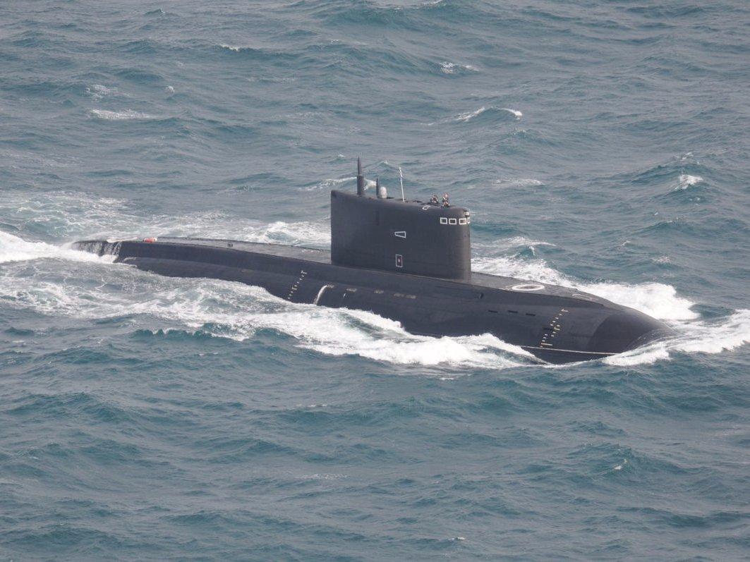Russia submarine Krasnodar navy