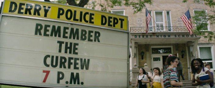 Image result for curfew sign from IT