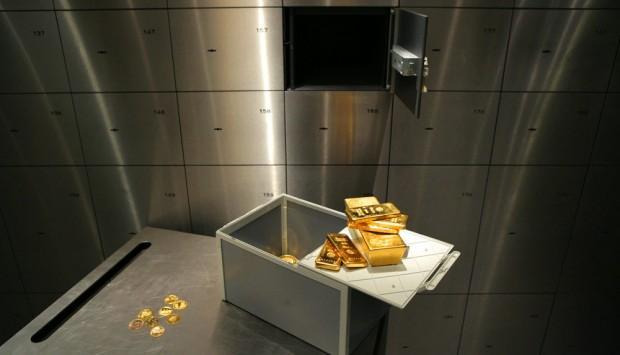 Edinburgh Store Gold & Silver Bullion in a Safe Deposit Box | Glasgow Vaults