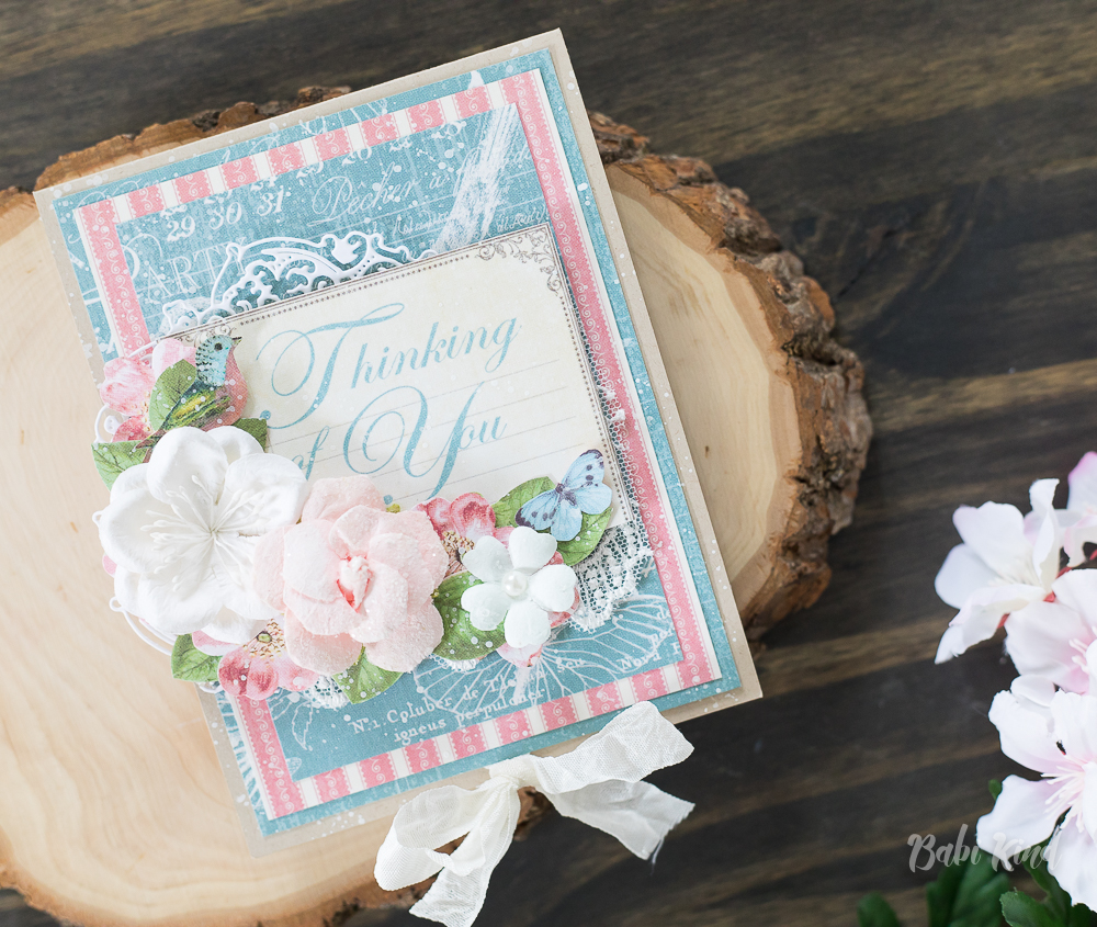 Video Tutorial Thinking Of You Pop Up Card