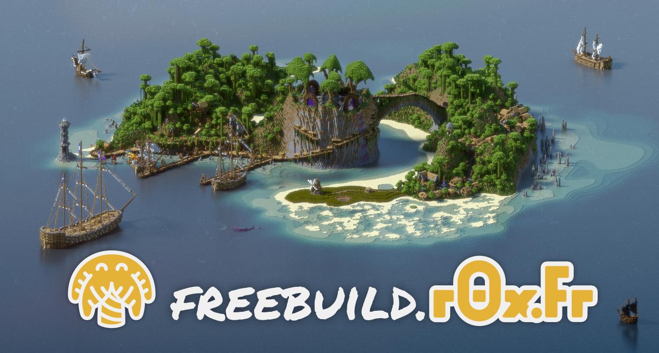r0x.fr - serveur Français Minecraft Freebuild Survie Métiers Economie Construction Protection 1.14.4-1.15.2 - Communauté Francophone - Forum - Discord