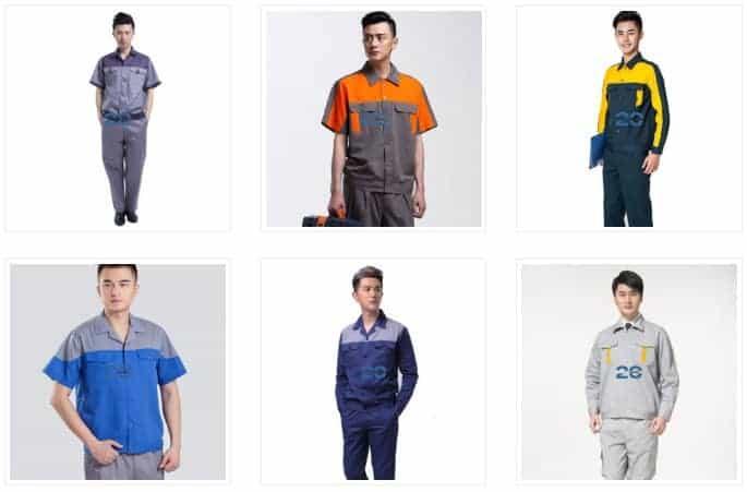 Đặc điểm của những bộ đồ bảo vệ Hàn Quốc