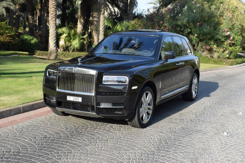 Rolls Royce Cullinan - Top-of-the-line