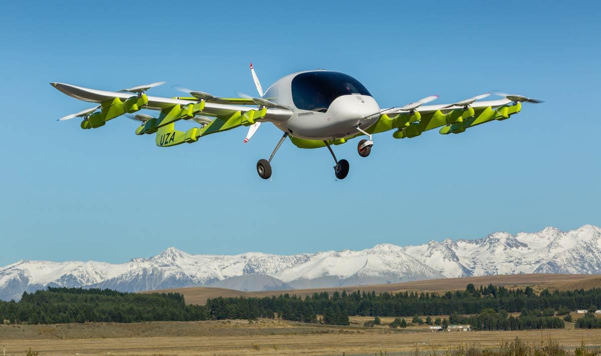 Heaviside drone by Kitty Hawk