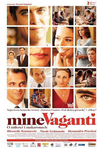 Polski plakat filmu 'Mine Vaganti. O Miłości i Makaronach'