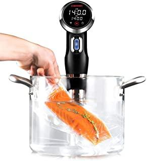Chefman Sous Vide Precision Cooker - WiFi and Bluetooth Enabled w/Digital Display & Accurate Temperature/Time Control, The...