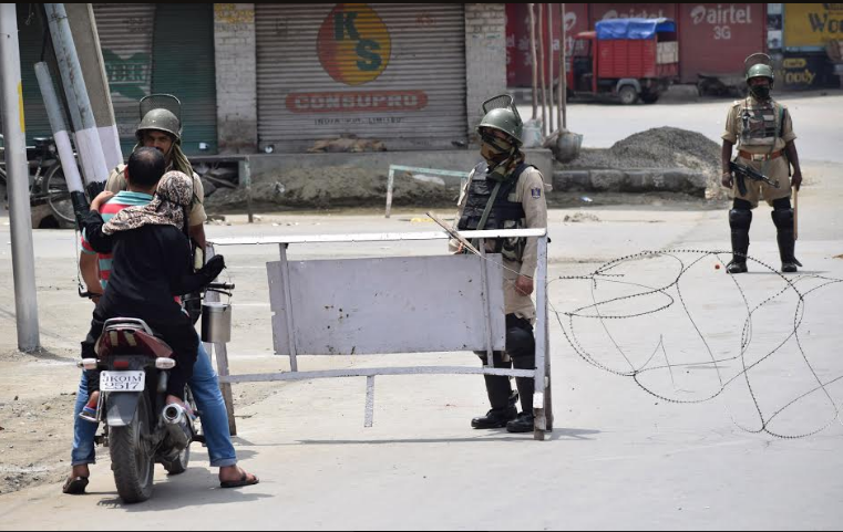 Civilian killed in 'army firing' in Kashmir