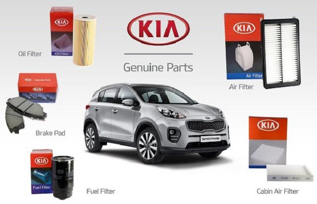 Những phụ kiện chính hãng đều có nhận diện từ thương hiệu Kia