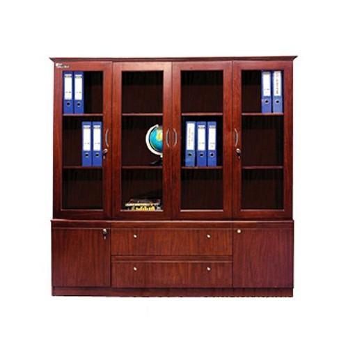 Tủ văn phòng Hòa Phát chất liệu gỗ có bền không?