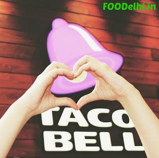 Taco Bell in Delhi, India