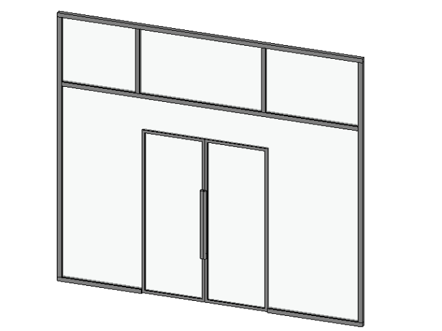 Curtain walls - Operation in Revit - Modelical