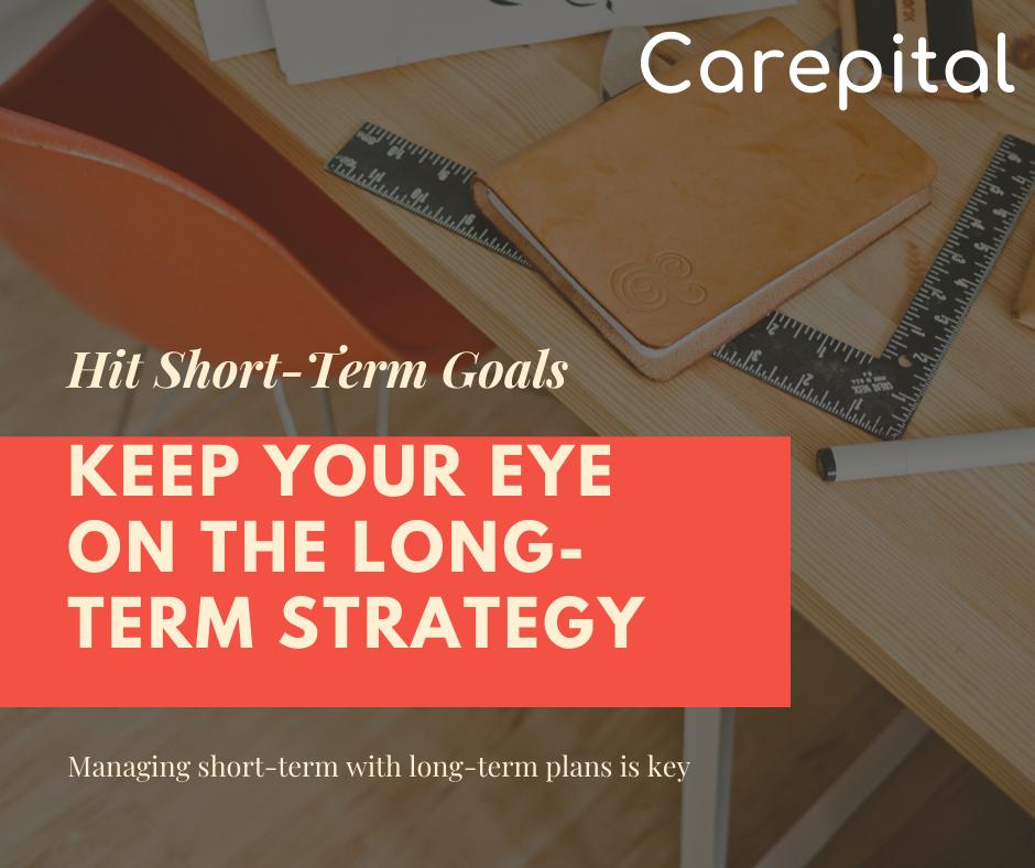 Balance between long-term and short-term plans