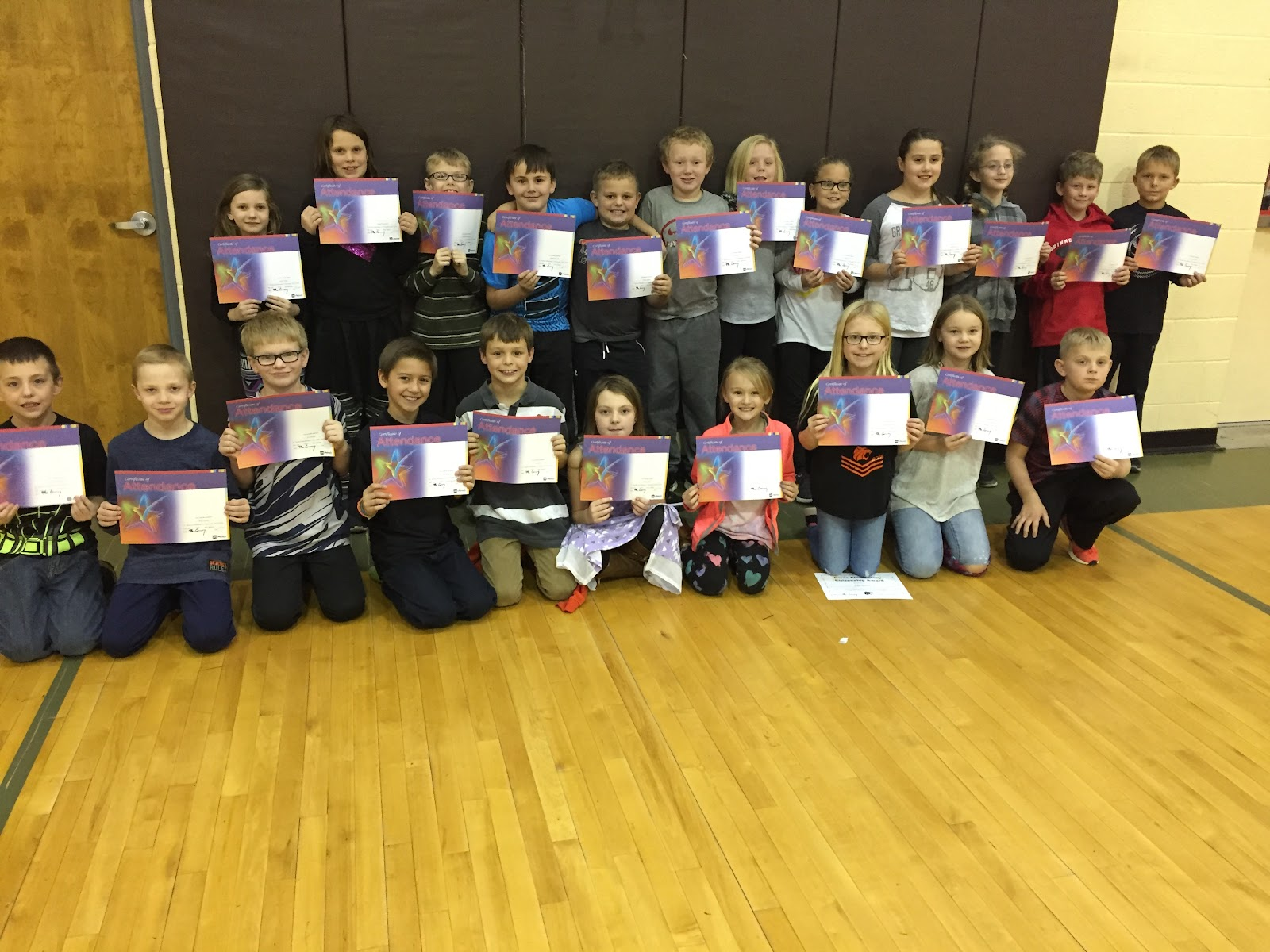 Students at Davis were also given awards for perfect attendance and outstanding attendance.