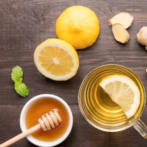 Detox da bằng hỗn hợp chanh và mật ong