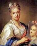 Rosalba Carriera (Italian artist, 1675-1757) Self Portrait 1709