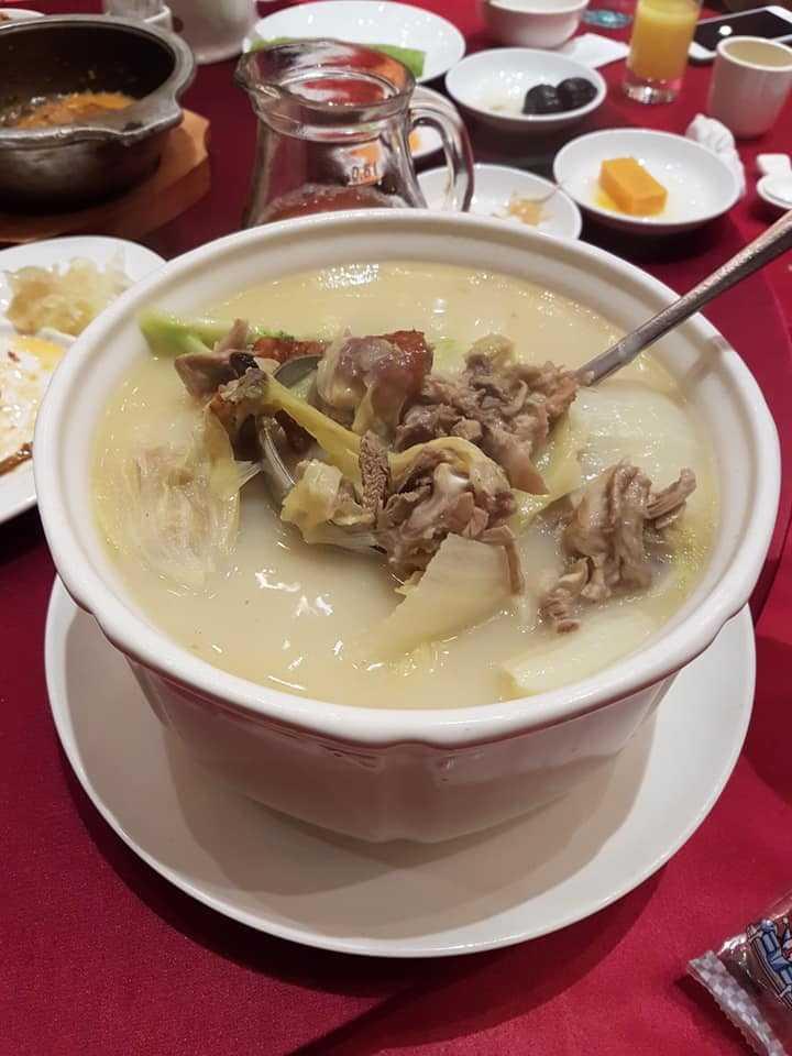 慢火白菜煲鴨湯