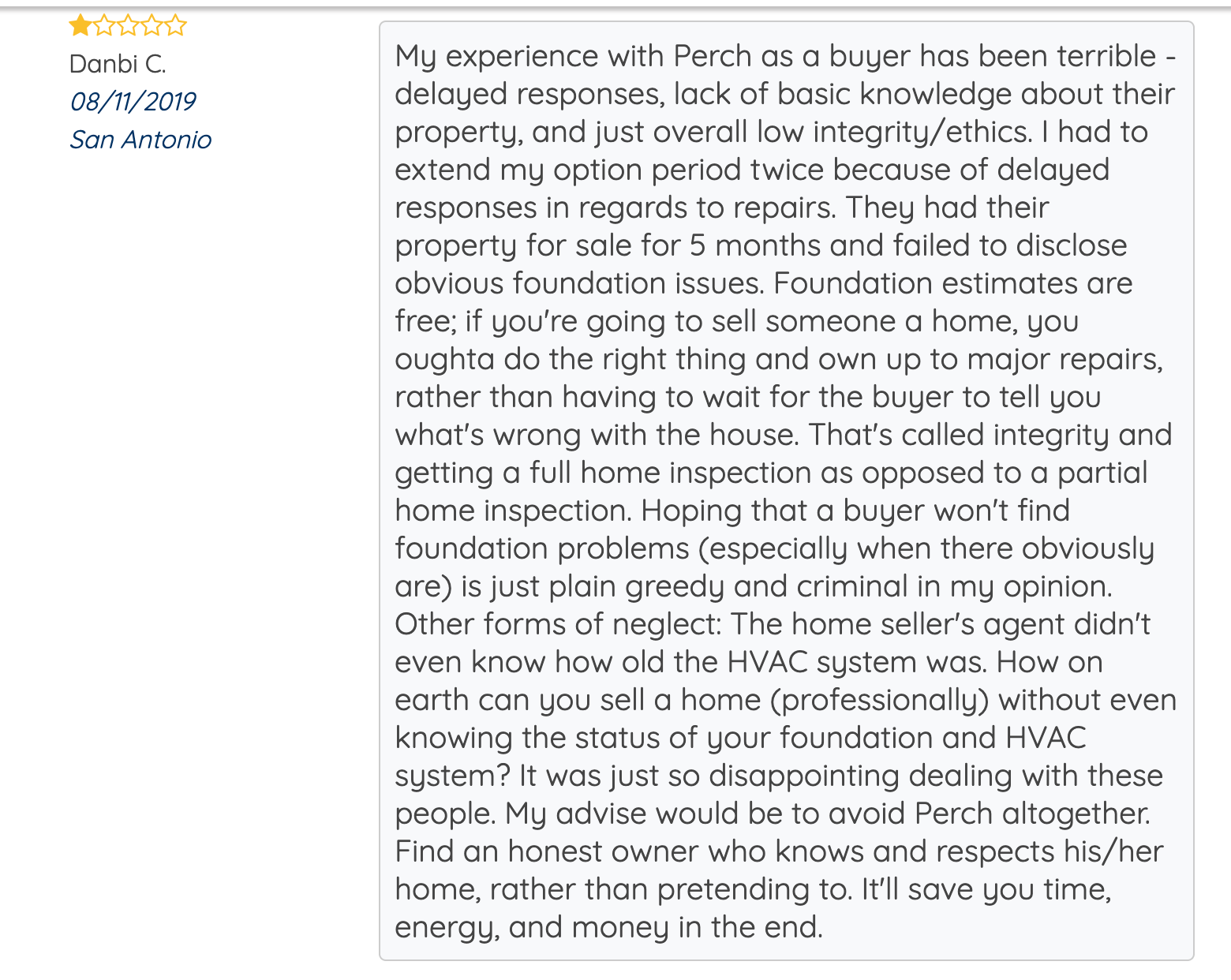 orchard real estate review