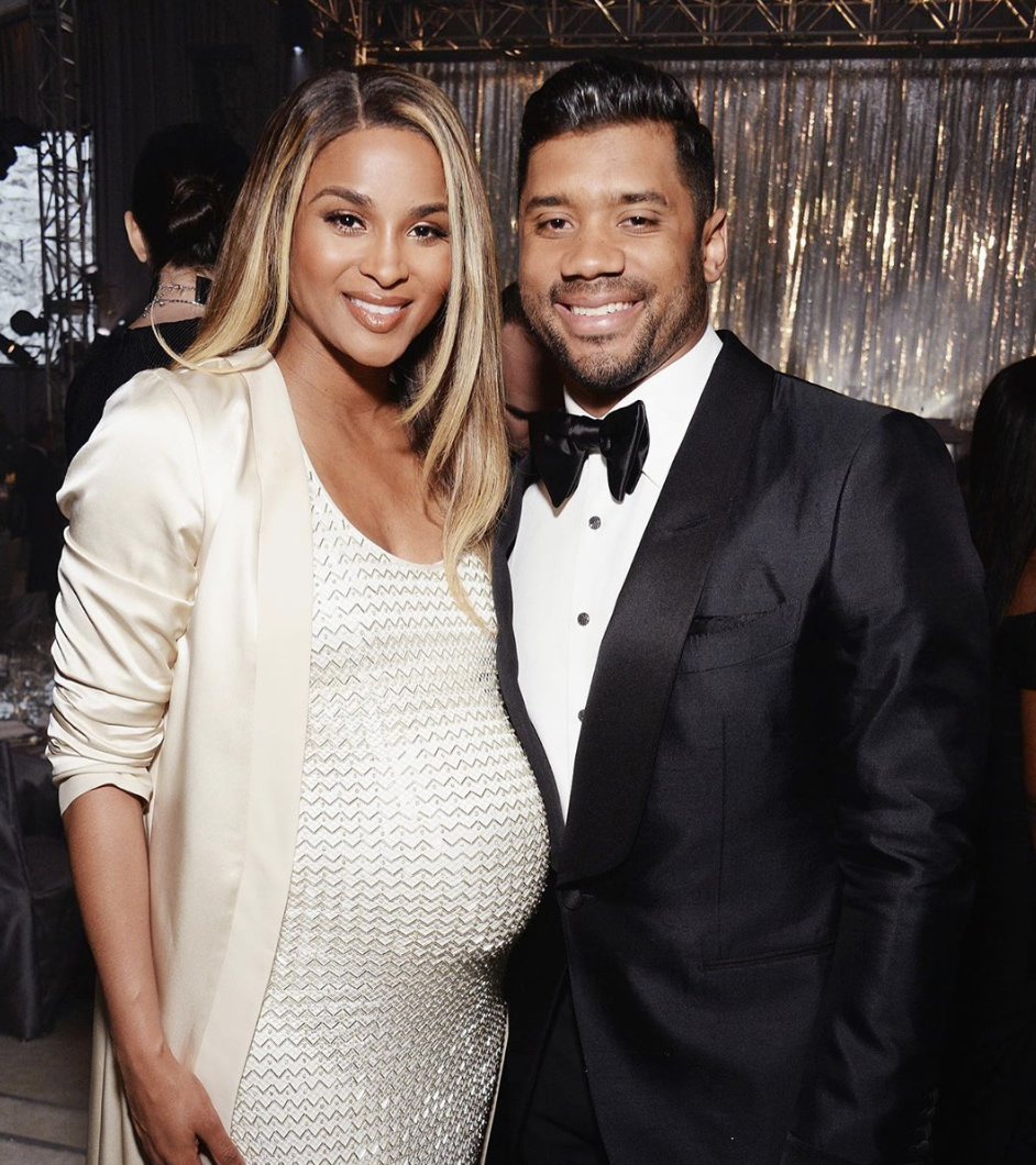 Russell Wilson (TruFusion, Right) & Ciara | Photo Credit: Instagram Beaze, a B2B vendor procurement marketplace.