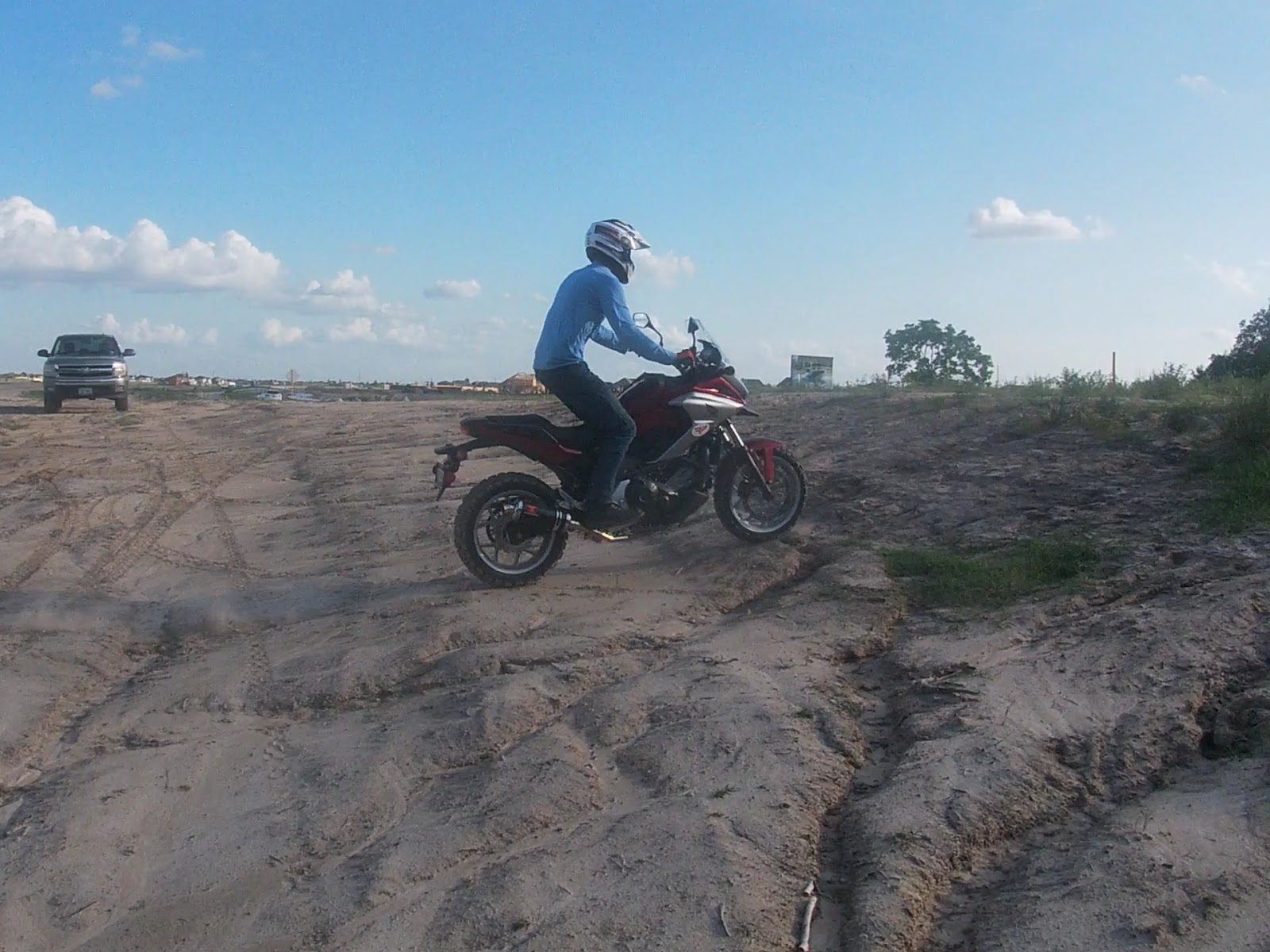 Ride with Honda NC750x and NC700x