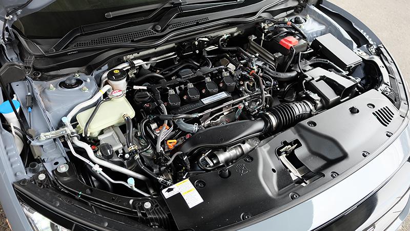 เครื่องยนต์ : Honda Civic FK Hatchback Turbo RS