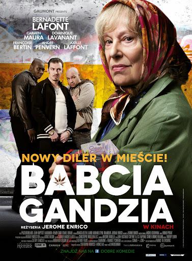 Przód ulotki filmu 'Babcia Gandzia'