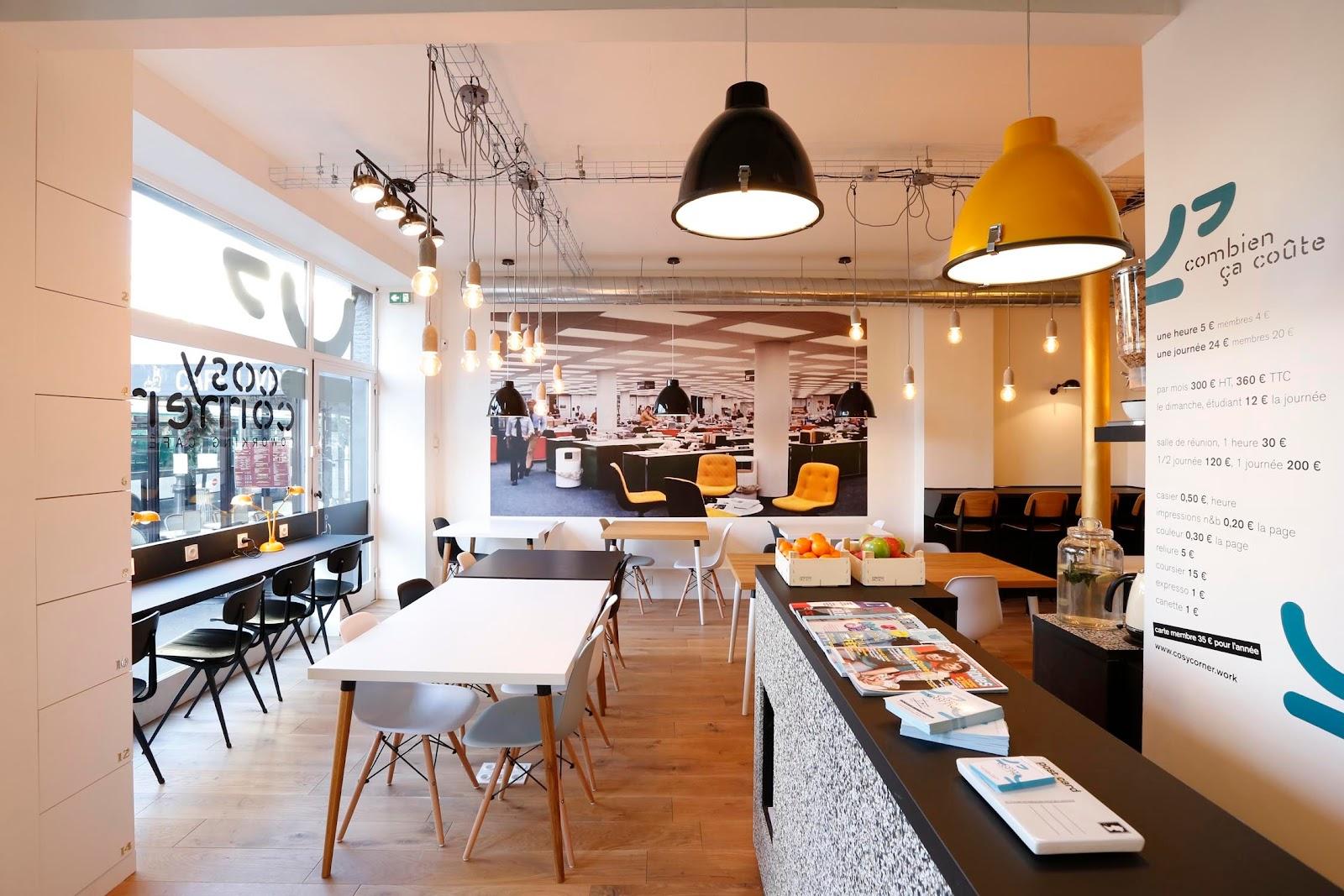 Cosy Corner Coworking Space in Paris