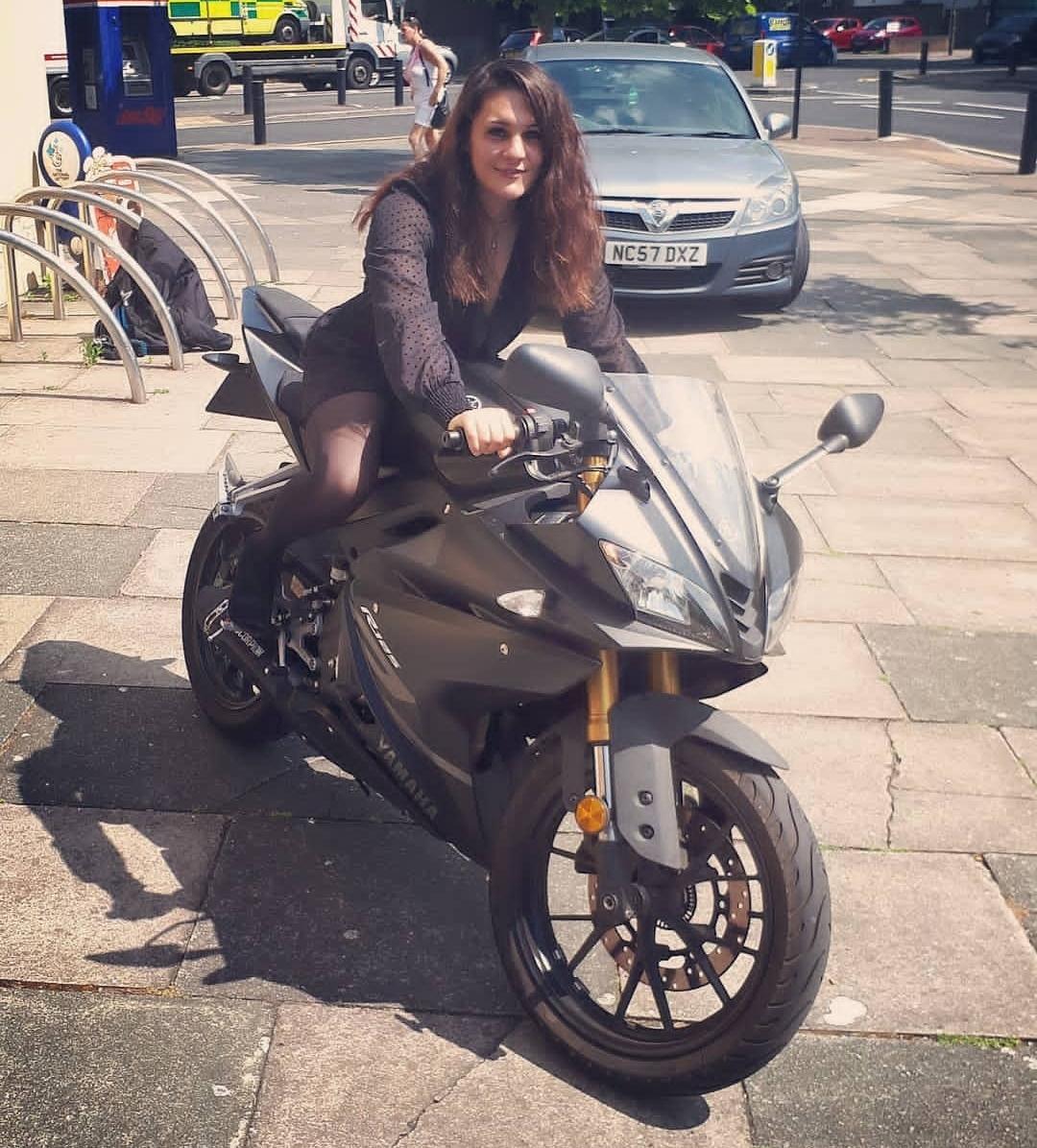 Courtney Yamaha rider