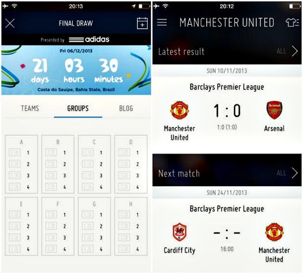 الإتحاد الدولي لكرة القدم FIFA تطبيقه الرسمي لكل من أجهزة iOS وأندرويد