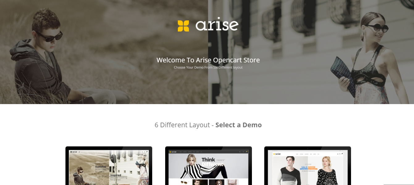 Arise - Opencart jewelry theme