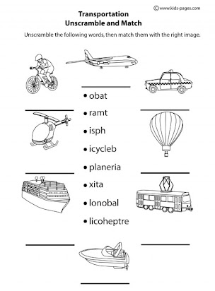 Essay on means of transport for kindergarten
