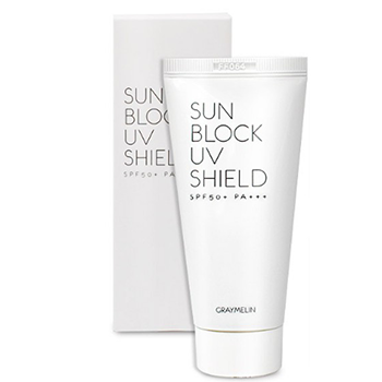 Soap and sunscreen