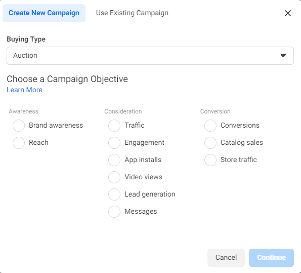 Create New Campaign to Boost Grocery Sales via Facebook Ads - Lia infraservices