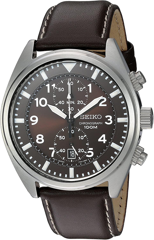 Seiko Men's SNN241 Stainless Steel Watch